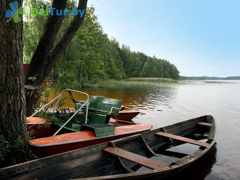 Отдых в Белоруссии Беларуси - база отдыха Актам - Прокат лодок