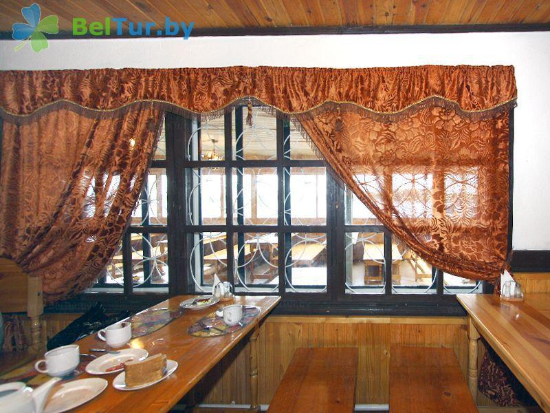 Отдых в Белоруссии Беларуси - база отдыха Актам - Кафе