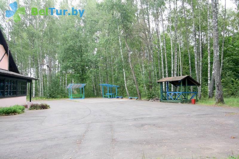 Отдых в Белоруссии Беларуси - база отдыха Актам - Танцплощадка летняя
