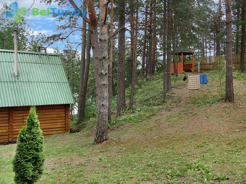 Отдых в Белоруссии Беларуси - дом охотника Дисненский - Территория и природа