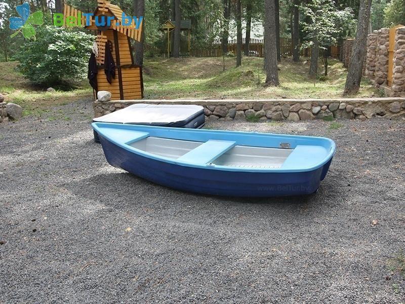 Отдых в Белоруссии Беларуси - дом охотника Дисненский - Прокат лодок