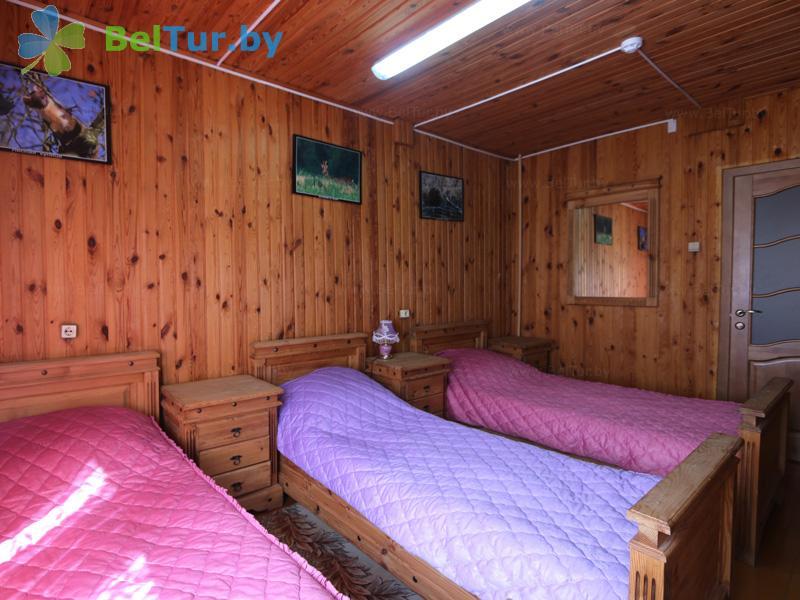 Отдых в Белоруссии Беларуси - дом охотника Ивацевичский - трехместный однокомнатный (дом охотника)
