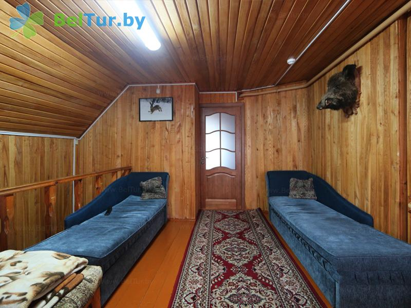 Отдых в Белоруссии Беларуси - дом охотника Ивацевичский - двухместный однокомнатный (дом охотника)