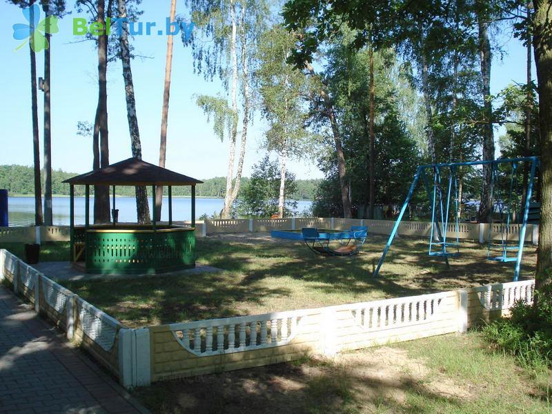 Отдых в Белоруссии Беларуси - база отдыха Белое озеро БЖД - Детская площадка