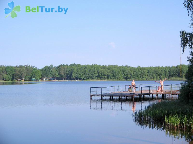 Отдых в Белоруссии Беларуси - база отдыха Белое озеро БЖД - Рыбалка