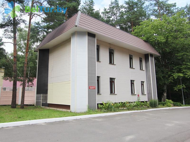 Отдых в Белоруссии Беларуси - база отдыха Белое озеро БЖД - корпус №3