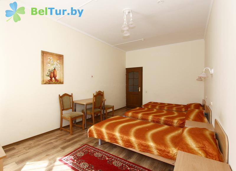 Отдых в Белоруссии Беларуси - база отдыха Белое озеро БЖД - трехместный однокомнатный семейный (все корпуса)