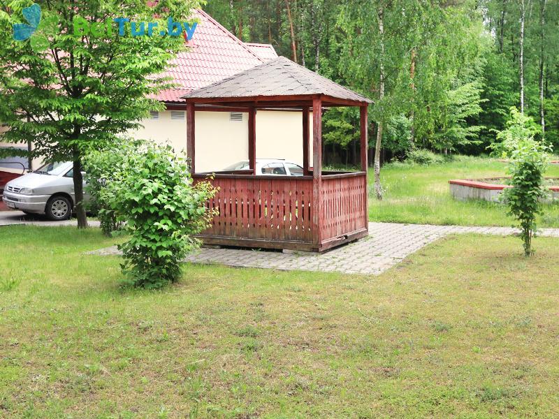 Отдых в Белоруссии Беларуси - база отдыха Белое озеро БЖД - Беседка