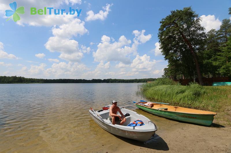Отдых в Белоруссии Беларуси - база отдыха Белое озеро БЖД - Пляж