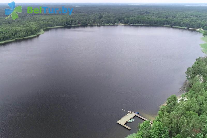 Отдых в Белоруссии Беларуси - база отдыха Белое озеро БЖД - Водоём
