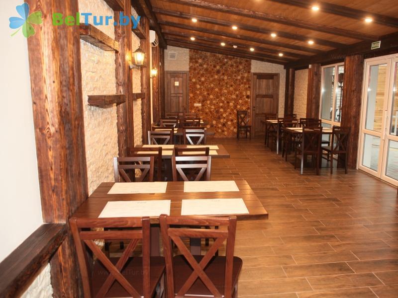 Отдых в Белоруссии Беларуси - база отдыха Березовая роща - Кафе