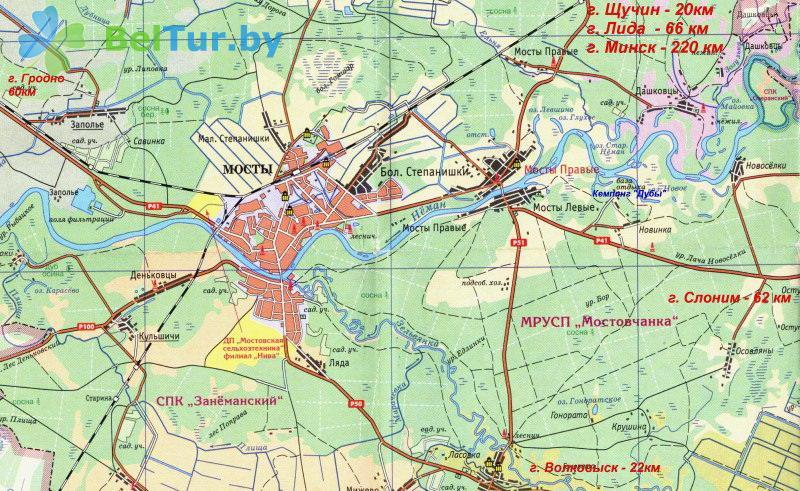 Отдых в Белоруссии Беларуси - кемпинг Дубы - Регистратура