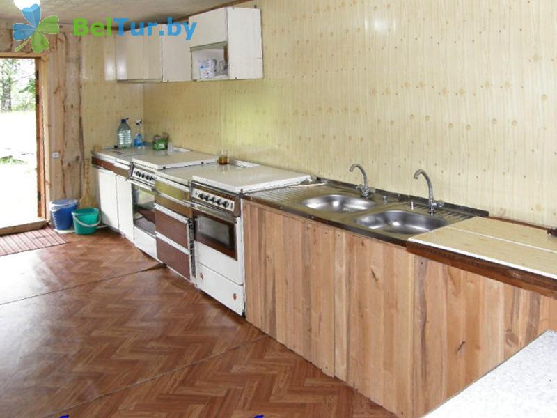 Отдых в Белоруссии Беларуси - кемпинг Дубы - Кухня