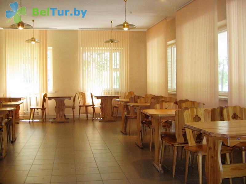 Отдых в Белоруссии Беларуси - база отдыха Электрон - Кафе