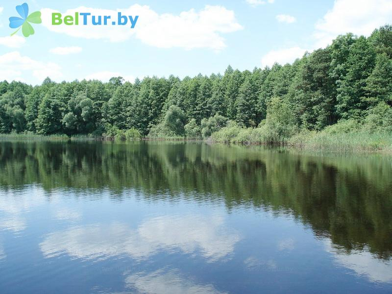 Отдых в Белоруссии Беларуси - база отдыха Электрон - Водоём