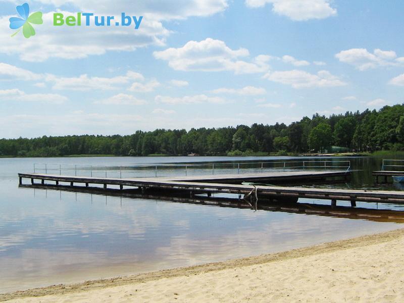Отдых в Белоруссии Беларуси - база отдыха Электрон - Пляж