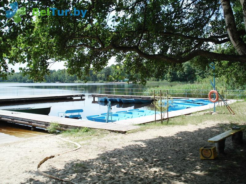 Отдых в Белоруссии Беларуси - база отдыха Электрон - Прокат лодок