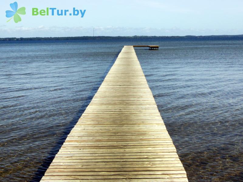 Отдых в Белоруссии Беларуси - кемпинг Нарочь - Территория и природа