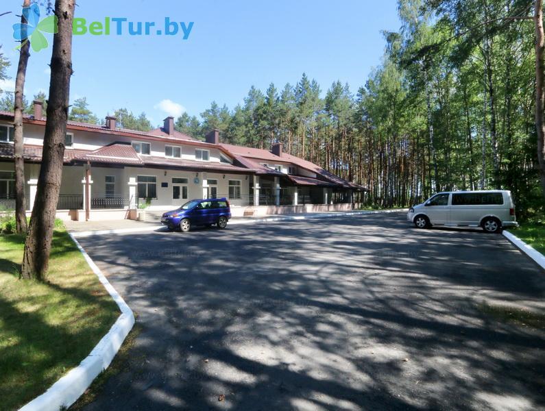 Отдых в Белоруссии Беларуси - кемпинг Нарочь - Парковка