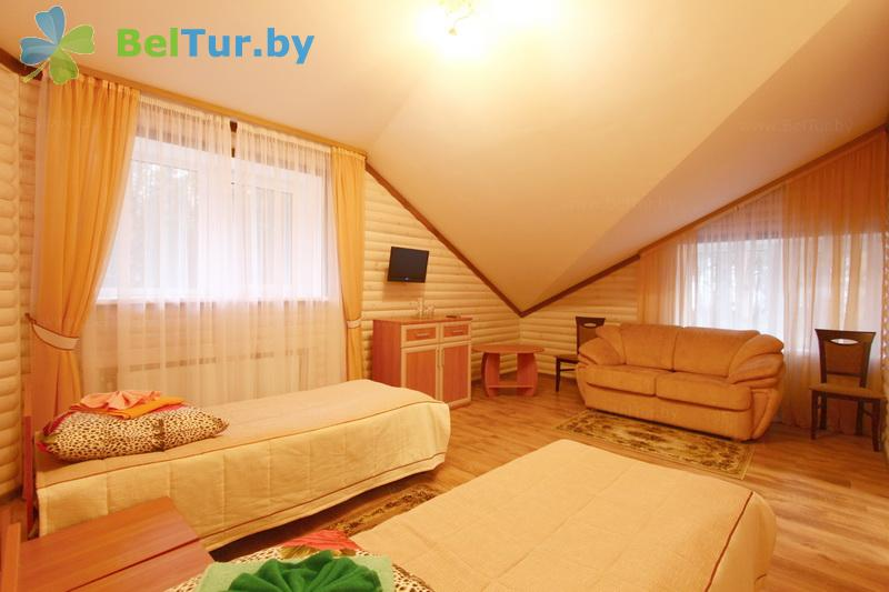 Отдых в Белоруссии Беларуси - кемпинг Нарочь - двухместный однокомнатный (гостиница)