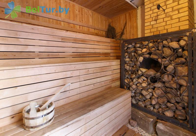 Отдых в Белоруссии Беларуси - база отдыха Лесное озеро - Сауна