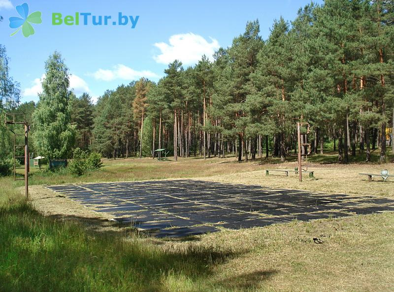 Отдых в Белоруссии Беларуси - база отдыха Лесное озеро - Спортплощадка