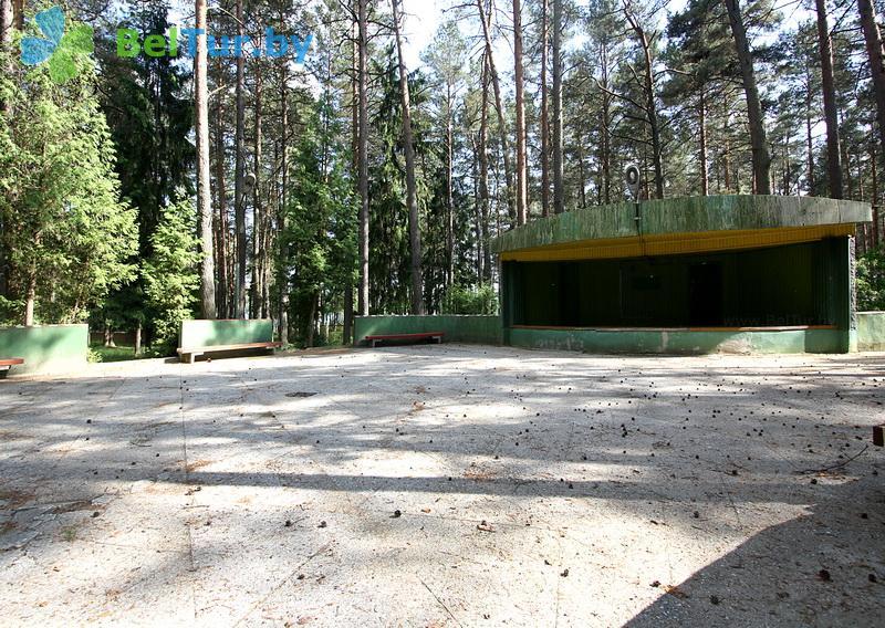 Отдых в Белоруссии Беларуси - база отдыха Лесное озеро - Танцплощадка летняя