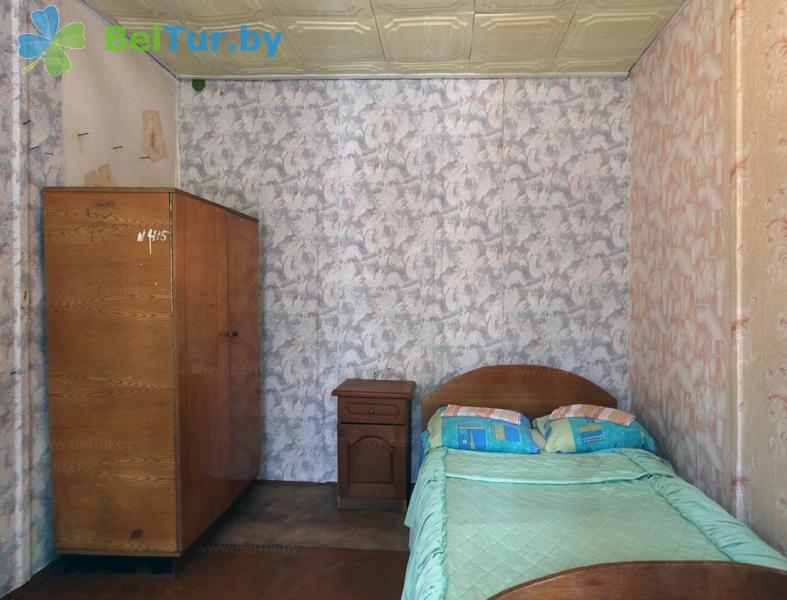 Отдых в Белоруссии Беларуси - база отдыха Лесное озеро - двухместный (летние домики)