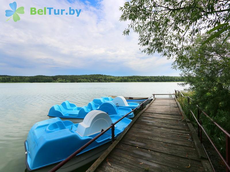 Отдых в Белоруссии Беларуси - база отдыха Лесное озеро - Прокат лодок