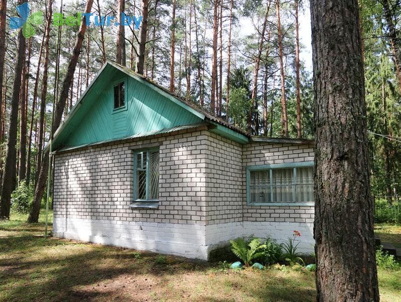 Отдых в Белоруссии Беларуси - база отдыха Лесное озеро - гостевой домик
