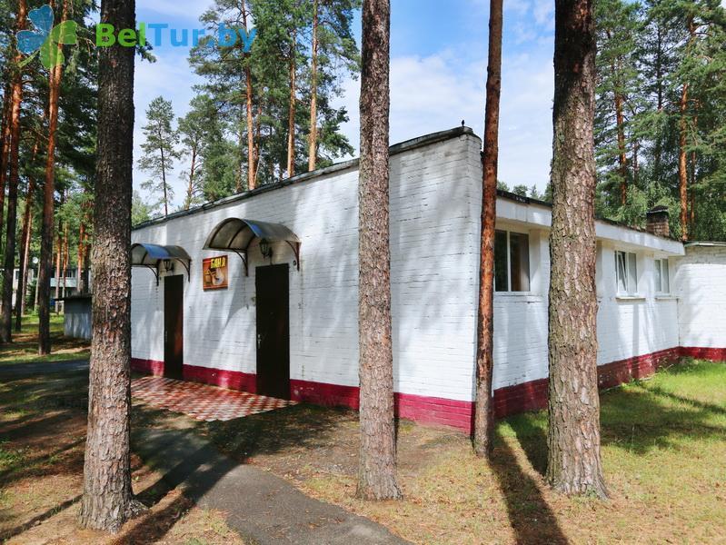 Отдых в Белоруссии Беларуси - база отдыха Лесное озеро - здание сауны с бассейном