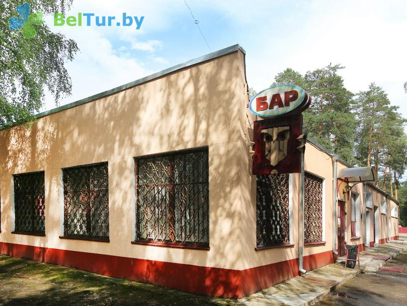 Отдых в Белоруссии Беларуси - база отдыха Лесное озеро - бар Ялинка