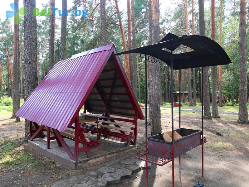Отдых в Белоруссии Беларуси - база отдыха Лесное озеро - Беседка