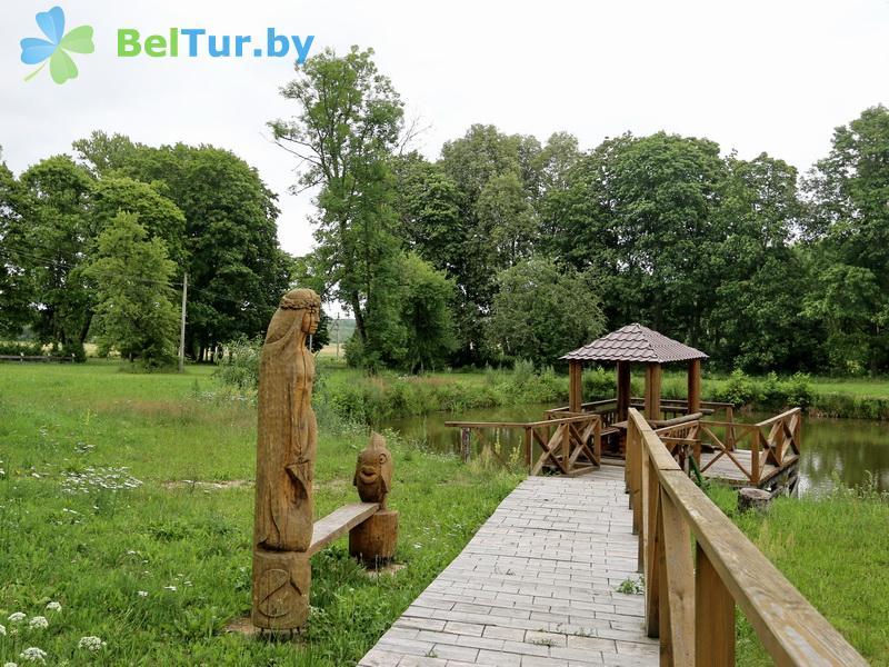 Отдых в Белоруссии Беларуси - дом охотника Панская усадьба - Водоём