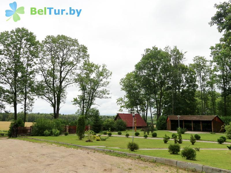 Отдых в Белоруссии Беларуси - дом охотника Панская усадьба - Территория и природа