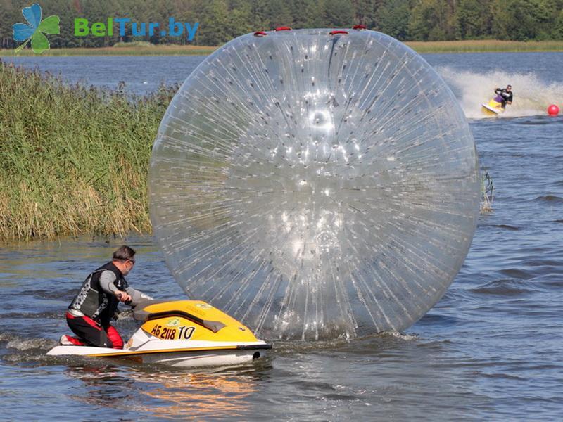 Отдых в Белоруссии Беларуси - база отдыха Экспедиция - Водоём
