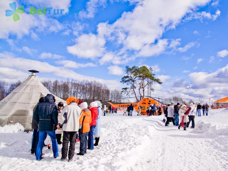 Отдых в Белоруссии Беларуси - база отдыха Экспедиция - Территория и природа