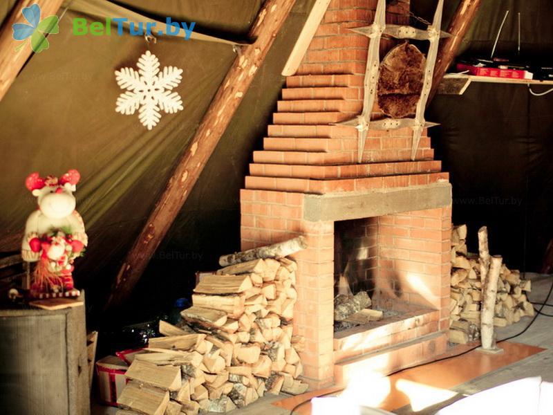 Отдых в Белоруссии Беларуси - база отдыха Экспедиция - десятиместный VIP-чум (VIP-чум №1-5)