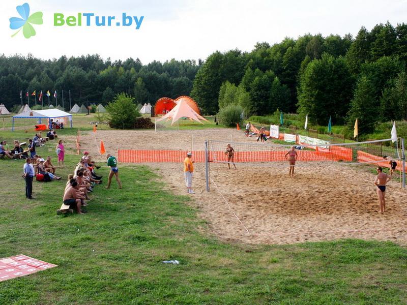 Отдых в Белоруссии Беларуси - база отдыха Экспедиция - Спортплощадка