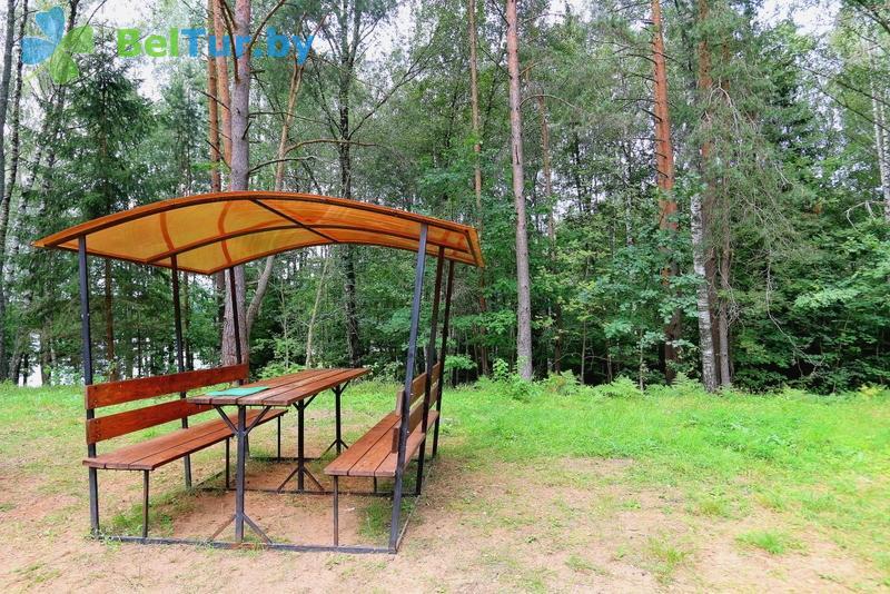 Отдых в Белоруссии Беларуси - база отдыха Девино - Площадка для шашлыков