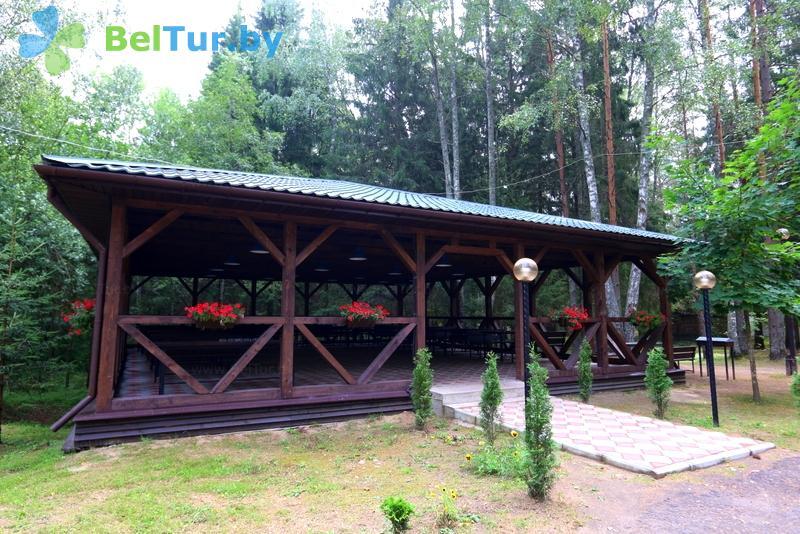 Отдых в Белоруссии Беларуси - база отдыха Девино - Беседка