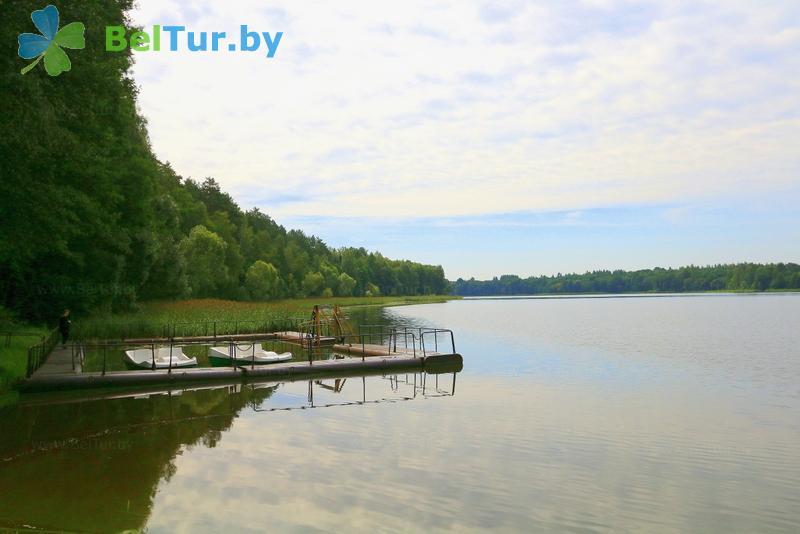Отдых в Белоруссии Беларуси - база отдыха Девино - Водоём