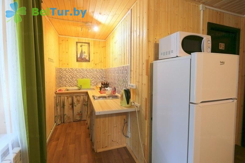 Отдых в Белоруссии Беларуси - база отдыха Девино - двухместный однокомнатный (домики №1-2 cтандарт)