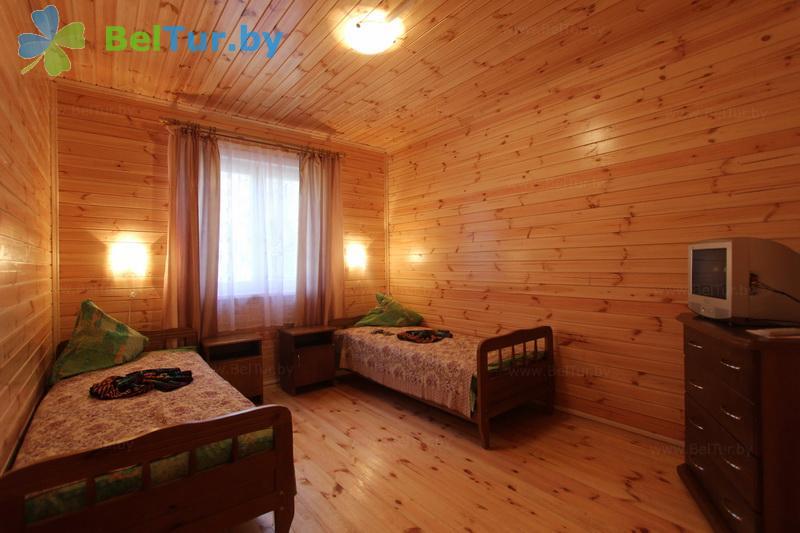 Отдых в Белоруссии Беларуси - туристический комплекс Браславские озера - двухместный однокомнатный (1 категория) (бунгало)