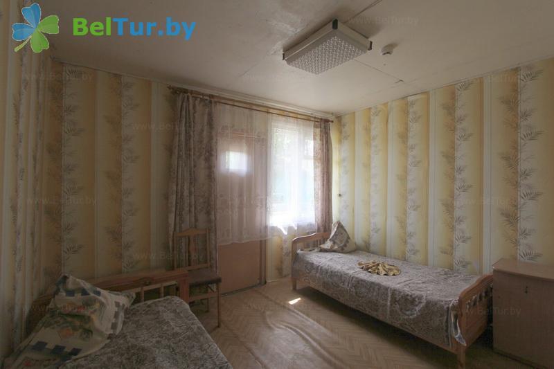 Отдых в Белоруссии Беларуси - туристический комплекс Браславские озера - двухместный в блоке (2 категория) (каскадный летний домик / с хол. водой)