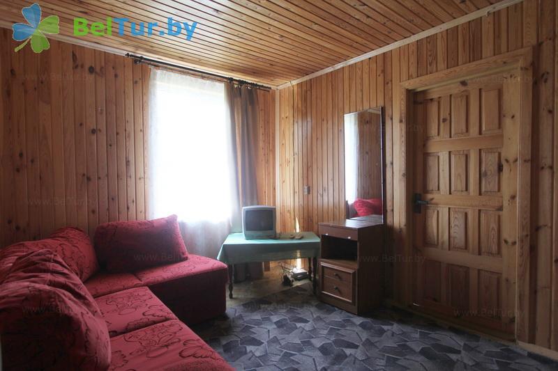 Отдых в Белоруссии Беларуси - туристический комплекс Браславские озера - двухместный однокомнатный (1 категория) (деревенский домик)