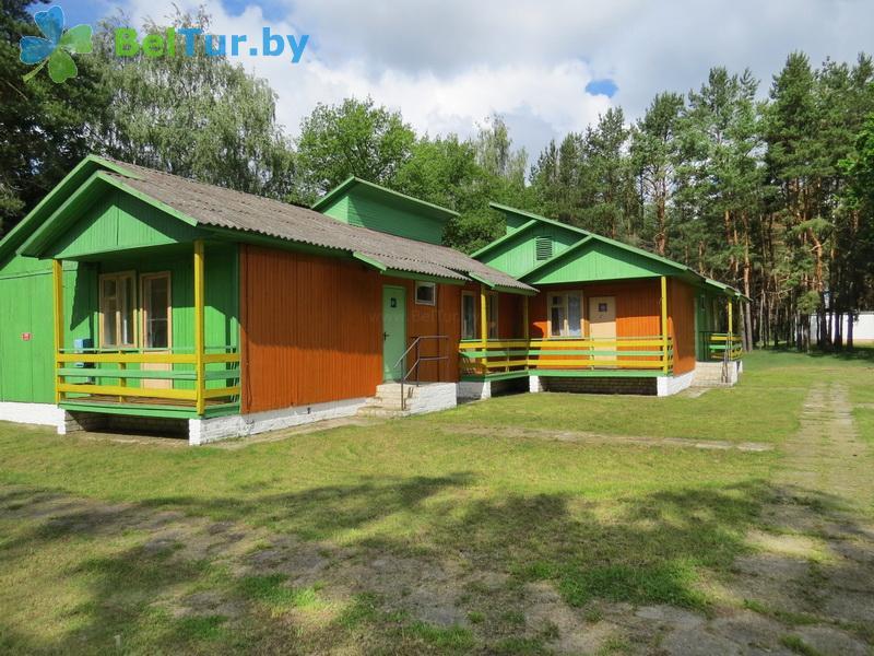 Отдых в Белоруссии Беларуси - туристический комплекс Браславские озера - каскадный летний домик / с хол. водой
