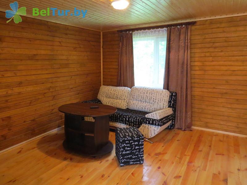 Отдых в Белоруссии Беларуси - туристический комплекс Браславские озера - двухместный однокомнатный (1 категория) (коттедж)
