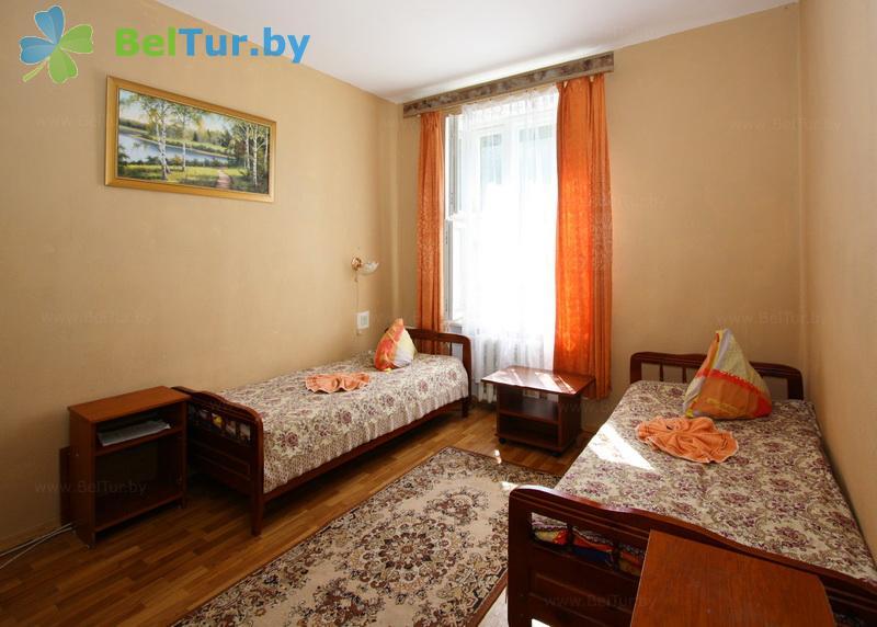 Отдых в Белоруссии Беларуси - туристический комплекс Браславские озера - двухместный однокомнатный twin standard (корпус №2)
