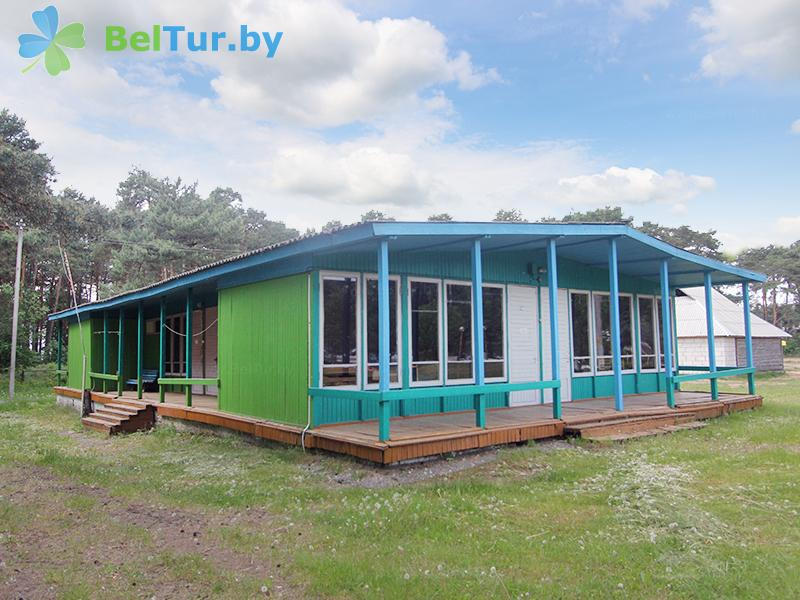 Отдых в Белоруссии Беларуси - туристический комплекс Браславские озера - летние домики 4-х местные